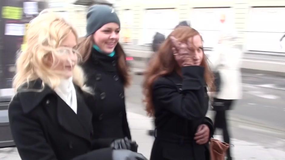 Elizabeth in video of a public toilet fuck between horny couple