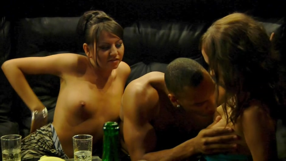 Demi & Joana & Kamali & Malika in black dude fucks two very cute college girls Ebony milf with big saggy tits nailed