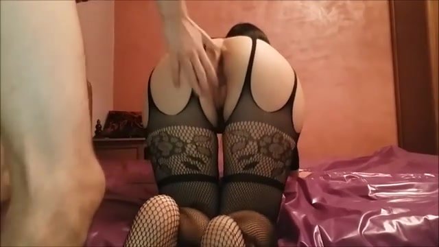 Asian catsuit whore gets backside APOLET