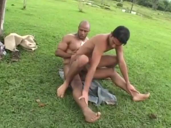 Black slave fucks white farmer in his tight ass! Huge Black Lesbian Tits