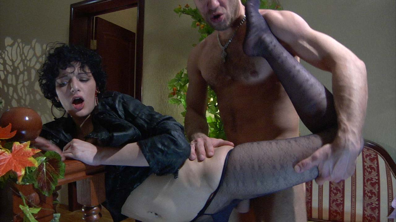 NylonFeetVideos Clip: Inessa and Herbert she fisted my pussy humiliation