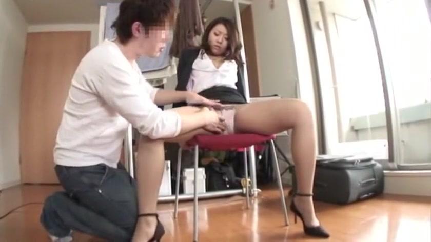 Crazy Japanese slut Sayuri Meike in Horny Stockings, Masturbation JAV movie