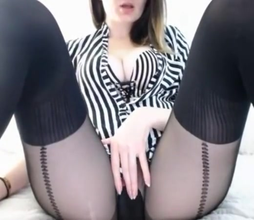 Pussy in tights Chung caught naked