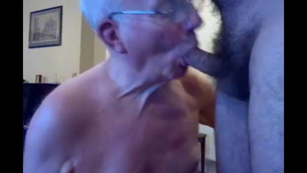 Grandpa suck on webcam 1 Amrit chahal