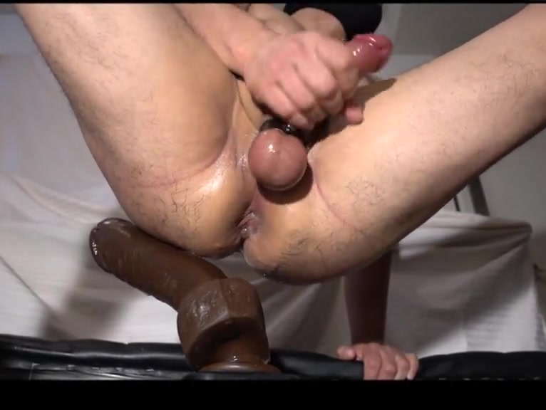 Bam huge dildo fucked! Love on skype