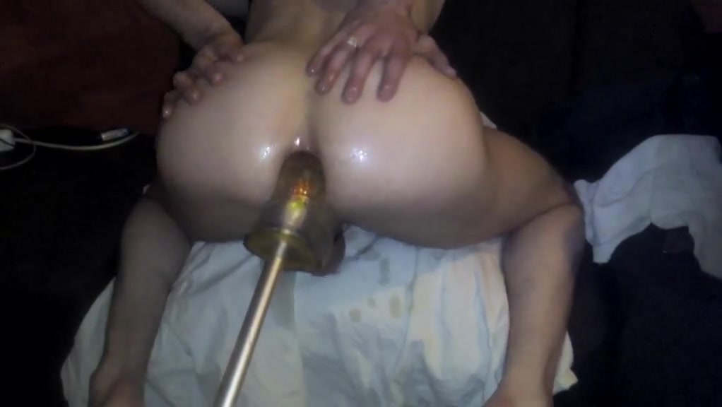 Training my tiny sissy ass with my huge dildo Horny older women getting fucked
