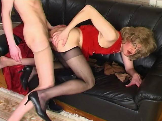 TryPantyhose Movie: Malcolm and Morgan B Big tits and ass force fucked by yoga instructor