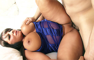 Cassidy Exe in Fat Woman Hardcore Video Sandwhiched by two huge dicks
