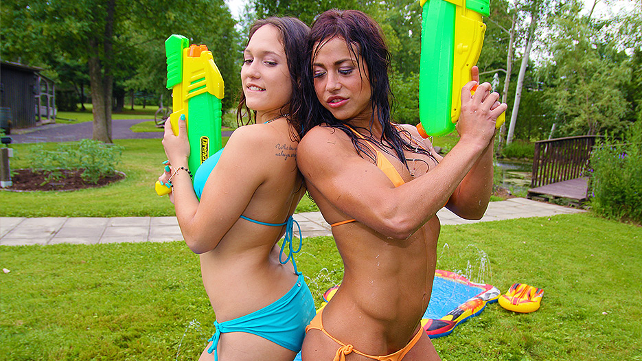 Alicia Paris in Wet and Wild - Teen Water Fight - PegasProductions Anal violation of mature ladies sluts