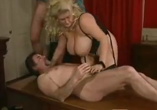 Gaynor milf monster natural tits dp anal in stockings Girls talking about first sex videos