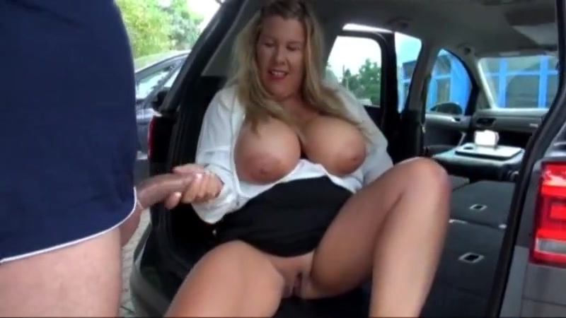 German bbw milf fucked in the back of car naked girl boy sex