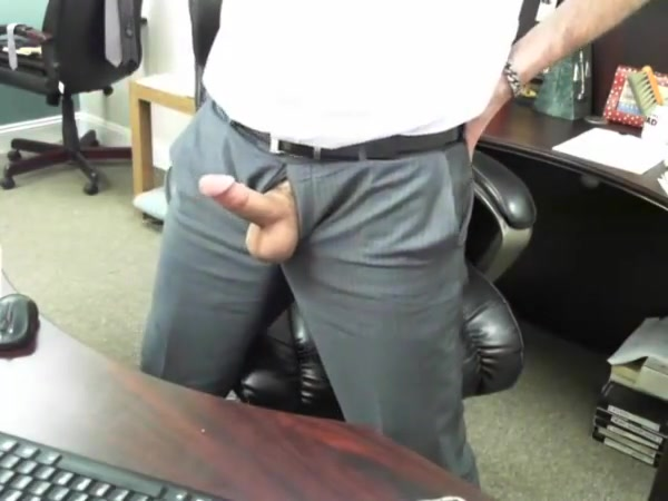 Boss daddy s cock is out at work Party porno