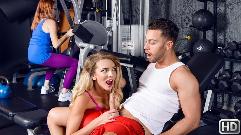 Tiffany Watson Seth Gamble in Naughty Trainer - RealtyKings free pantyhose pictures