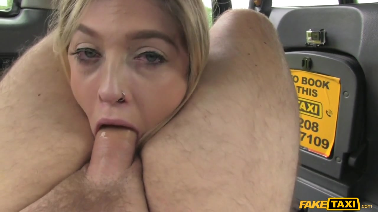 John  Rhiannon Ryder in Horny blonde makes dildo discovery - FakeTaxi