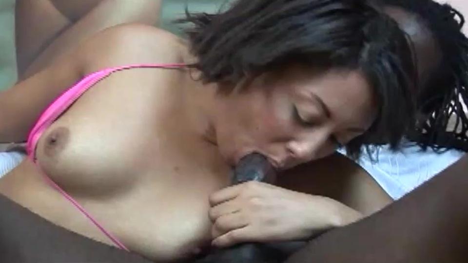 Thick ebony dick is little surprise for amateur
