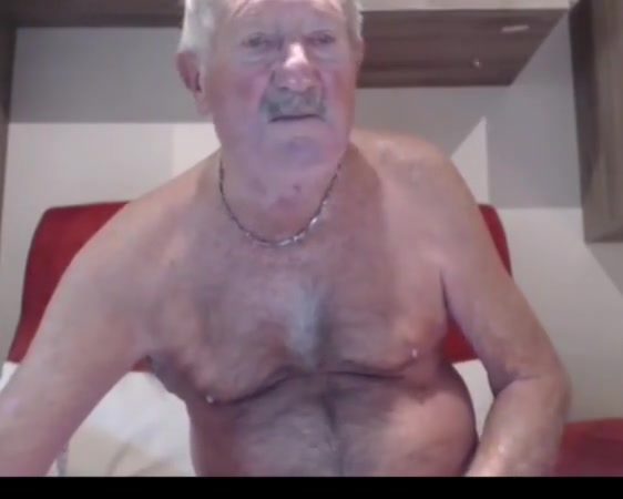 Grandpa show on webcam movies with real sex penetration