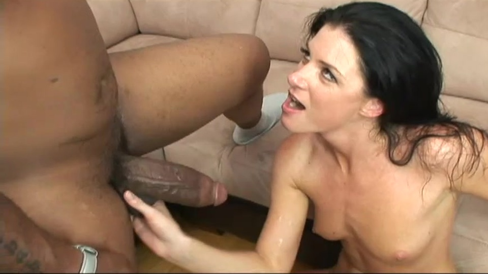Sexy brunette India Summer gets her holes stretched by bbc Sandy Fantasy and Cassidy Banks make out
