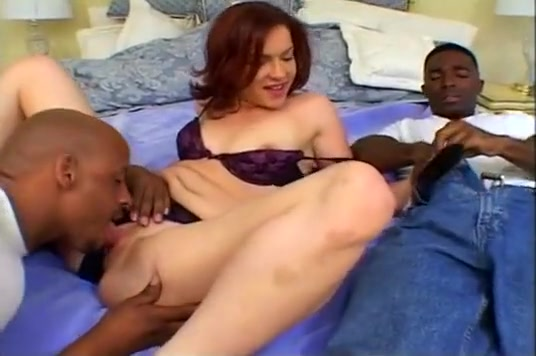German Hotty Is Fucked By Two Blacks