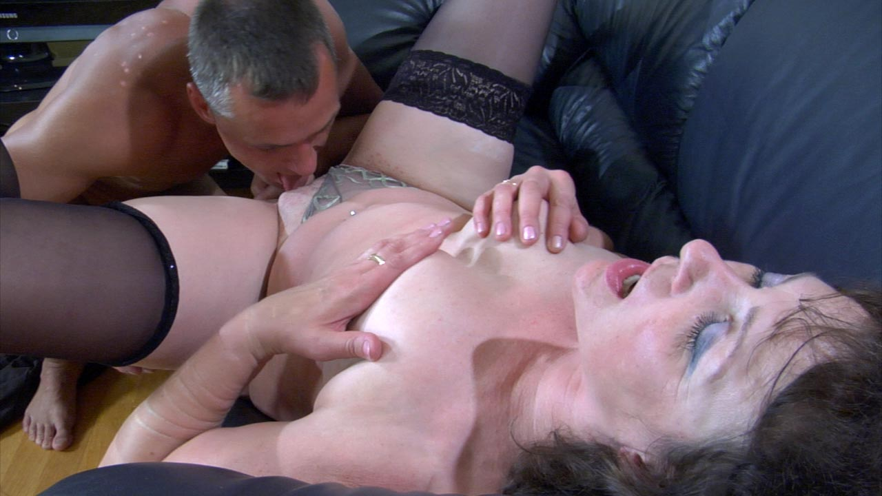 StunningMatures Scene: Emilia B and Connor man mature long hair