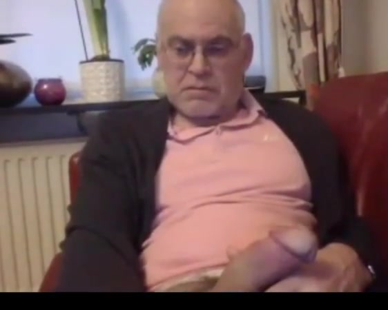 Grandpa stroke on webcam 1 Hot sexy xxx big cok