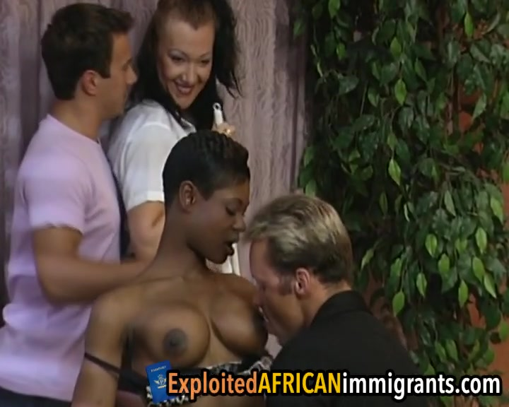 Skilled guys intruding two juicy cunts at once mature ebony xxx porn video