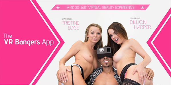 Dillion Harper Pristine Edge in The VRBangers App - VRBangers Fist Time Xvideohd