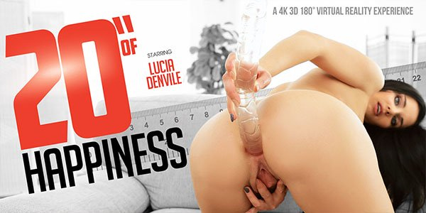 Lucia Denvile in 20 of Happiness - VRBangers Brunette fisted good