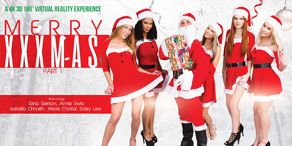Alexis Crystal Anna Swix Daisy Lee Gina Gerson Isabella Chrystin in Merry XXXmas - part 1 - VRBangers evil angel free porn movies