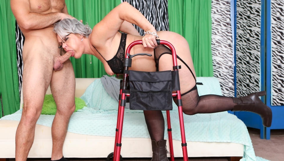 Kelly Leigh  T Stone in Horny Grannies Love To Fuck #12 - DevilsFilm