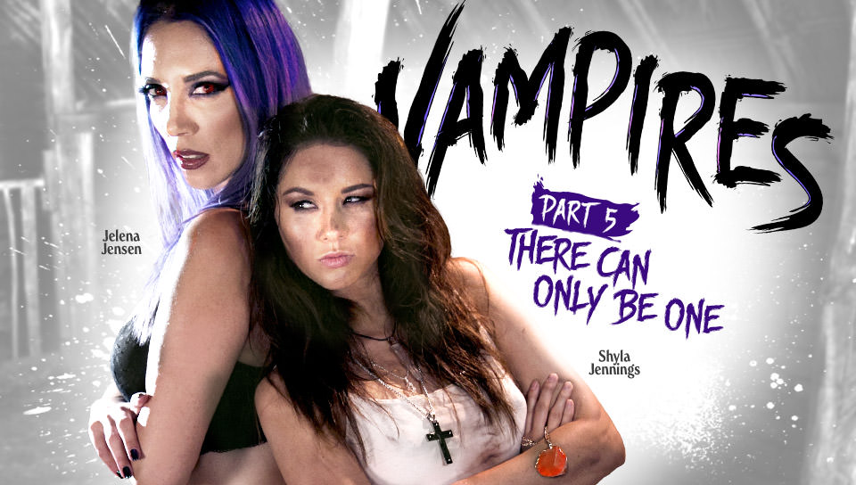 Shyla Jennings Jelena Jensen in VAMPIRES: Part 5: There Can Only Be One - GirlsWay english sexy woman sex hot movies