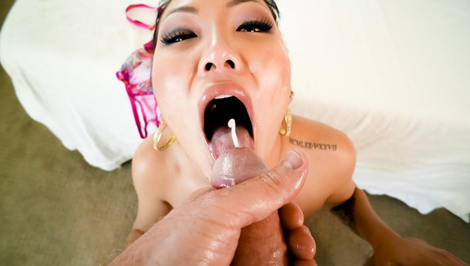 Jade Luv Jonni Darkko In Asian Jade's Slobbery, Deep-Throat BJ – EvilAngel