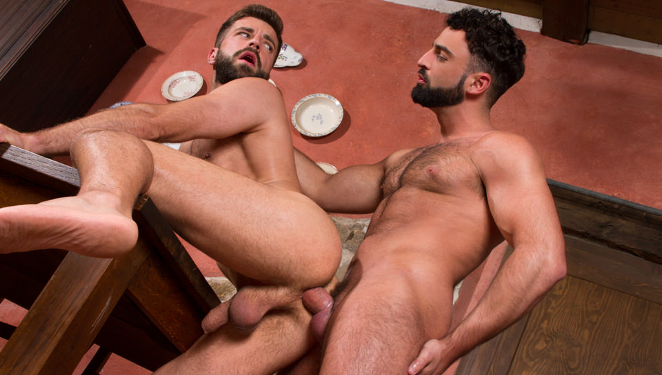 Hung Country XXX Video: Abraham Al Malek, Hector de Silva - FalconStudios boobs sucking and pressing