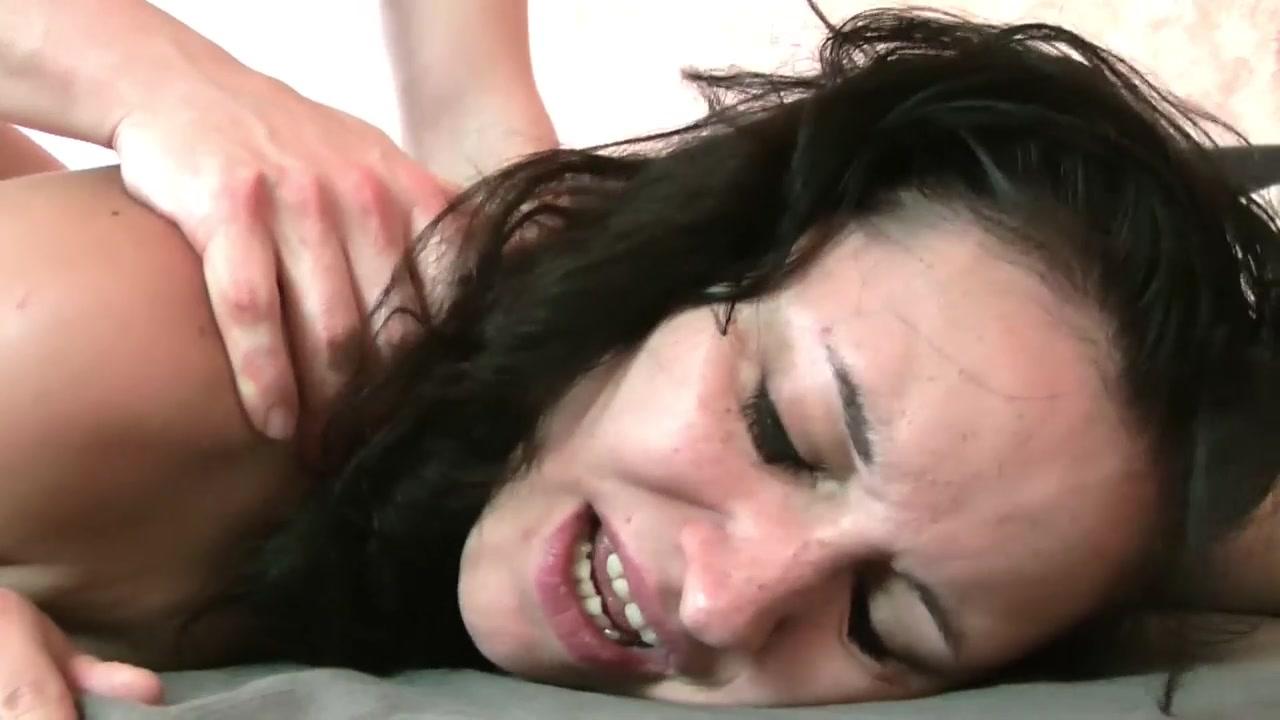 After hardcore shagging, slut gets a facial Mature ebony tgirl strokes her fat cock