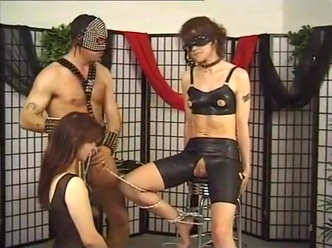 Strange Latex Clad Threesome With Naughty Consequences