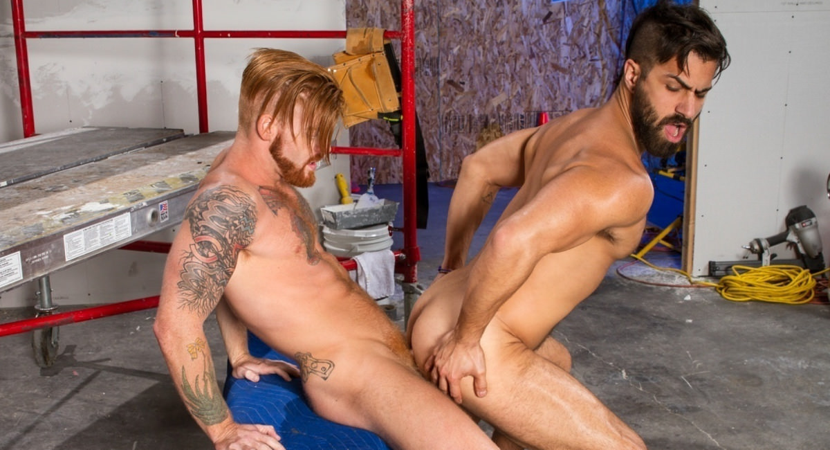 Adam Ramzi Bennett Anthony in Erect This!, Scene #04 - HotHouse naked girl xxx smp pics