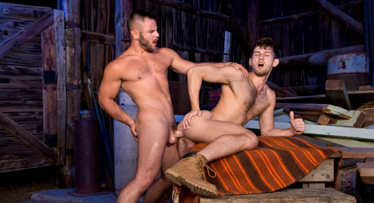 Nick Sterling Jacob Peterson in Total Exposure 1, Scene #02 - HotHouse How To Practice French Kissing Without A Partner