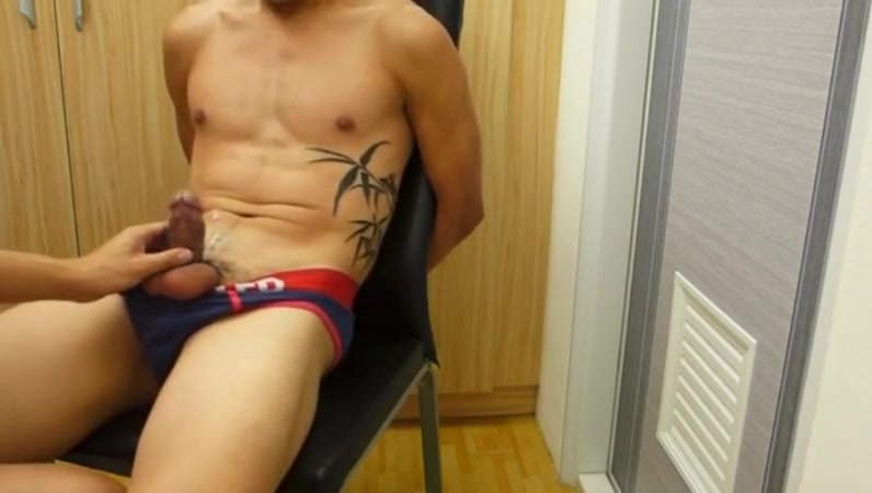 Guy slave bound tape gagged and jerked off girls in sweatpants xxx pics