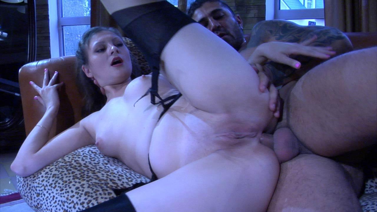 AnalSaga Video: Ashley and Frederic Full body playboy massage