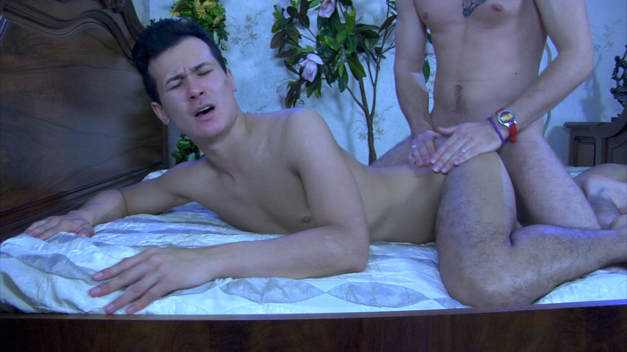 GaysFuckGuys Video: Benny B and Arnold A Scary dildo scary dildo