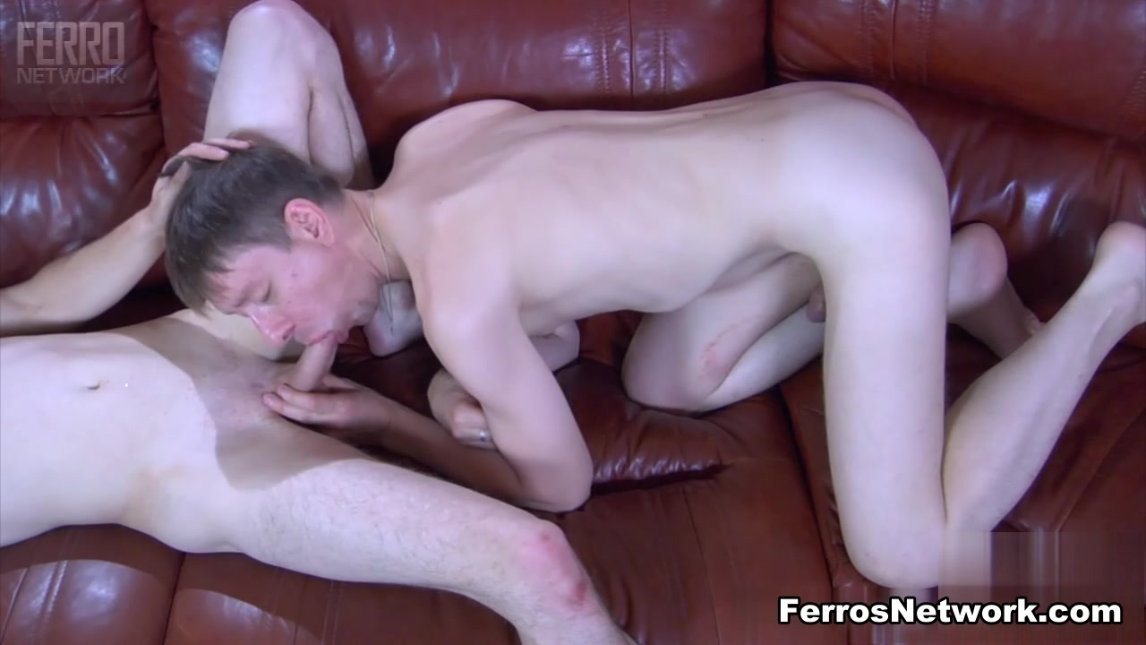 GaysFuckGuys Video: Claud A and Jacob A Cumming on tits and pussy gif