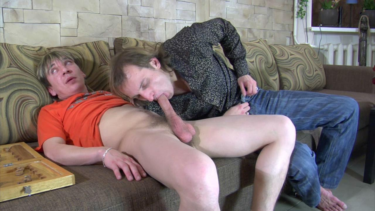 GaysFuckGuys Clip: Cyrus and Morris A Liking balls oral sex