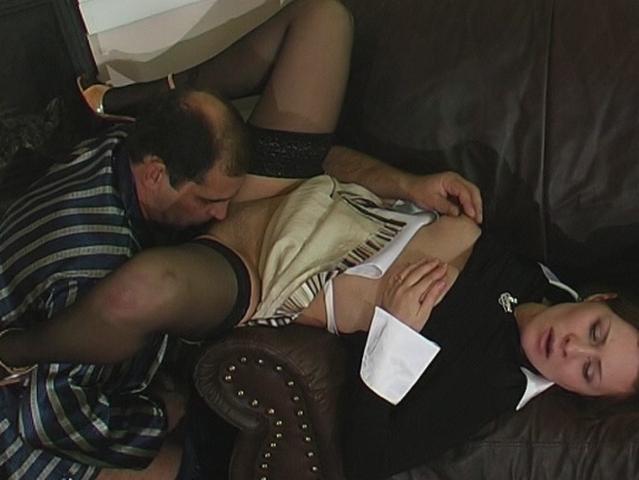 HornyOldGents Clip: Mima and Ferdinand amateur party porn videos