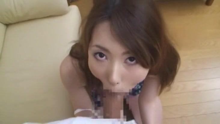 Hottest Japanese model Yui Hatano in Amazing Big Tits, Blowjob JAV clip