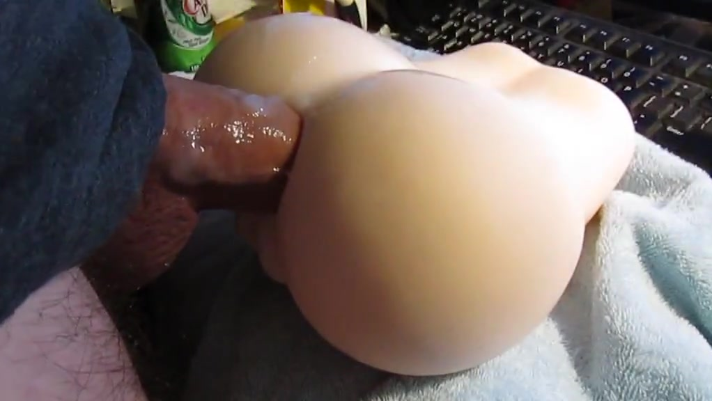 Sticky onahole fun bathroom pooping time porn videos