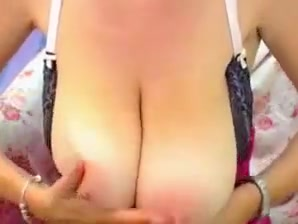 Saggy tits - nicky fat naked women video