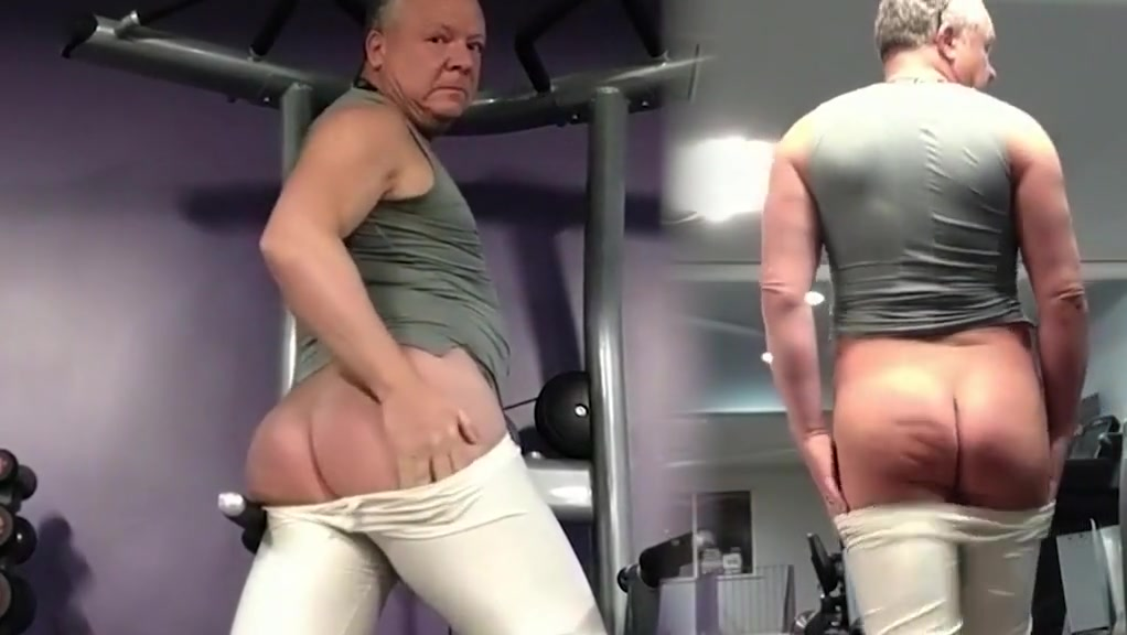 Arroyman bulge tights at the gym Courtney james naked ass