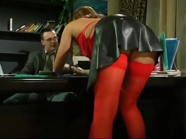 Hot mature in red pantyhose seduces boss 2 Farasha wife sexual dysfunction