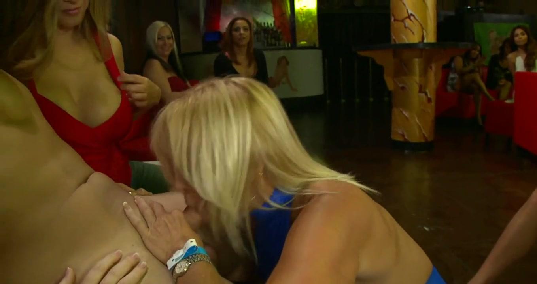Steamy hot striptease nude girls wearing legwarmers