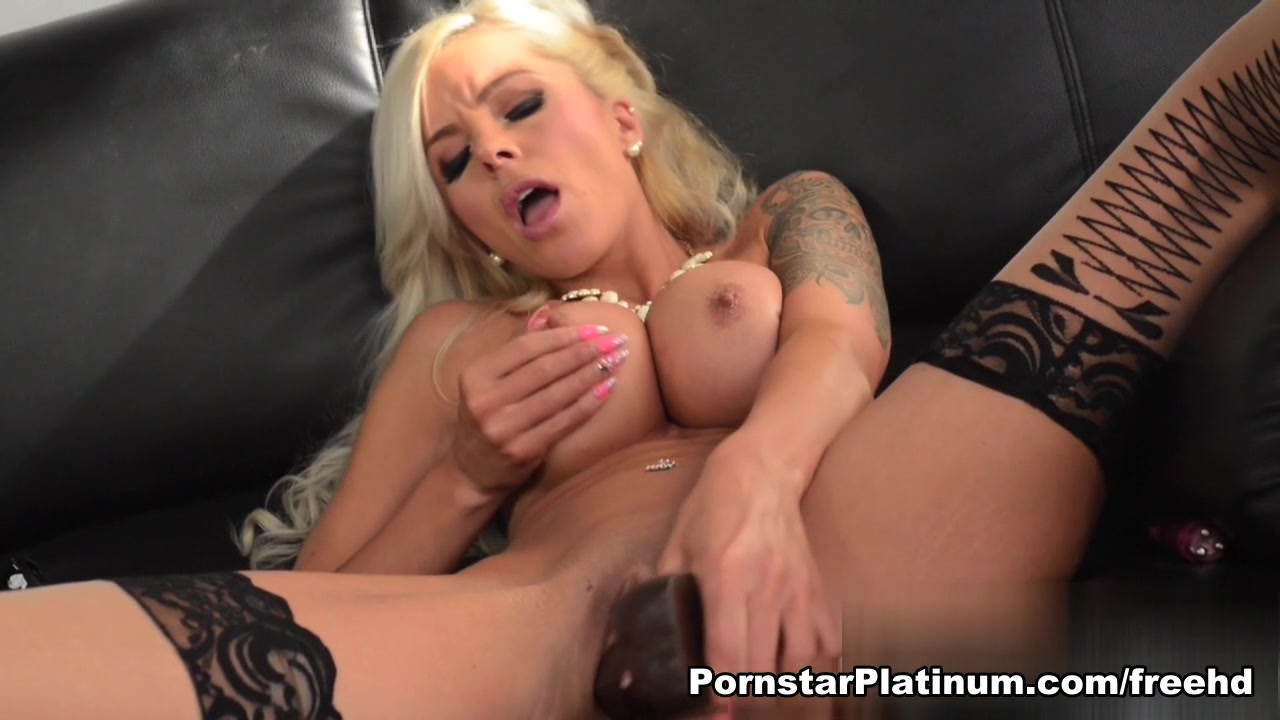 Nina Elle in Deep Dildo Plunging Funny excited face