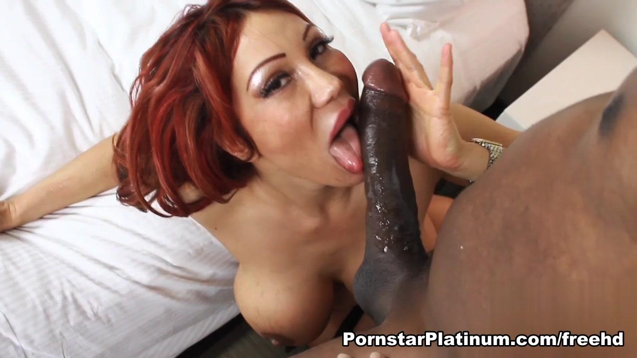 Ava Devine Rides Mandingos 12in Cock Deep throat scene